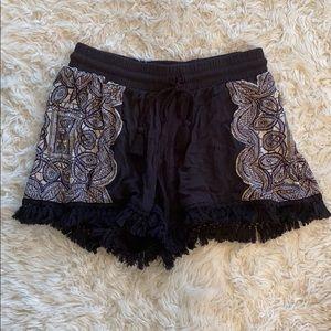 Mossimo Boho Fringe Shorts
